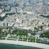 Bird's-eye view Azerbaijan