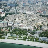 Bird's-eye view Azerbaijan