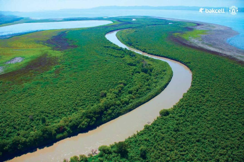 Mingachevir reservoir