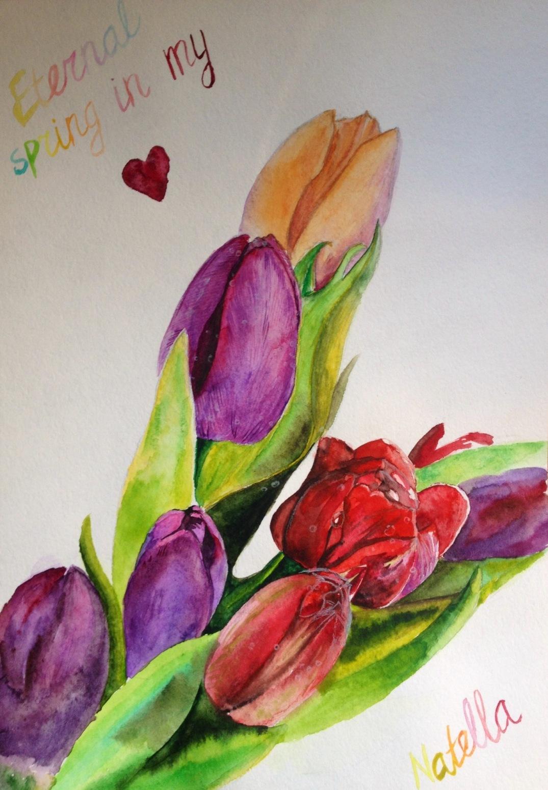 Eternal spring in my heart