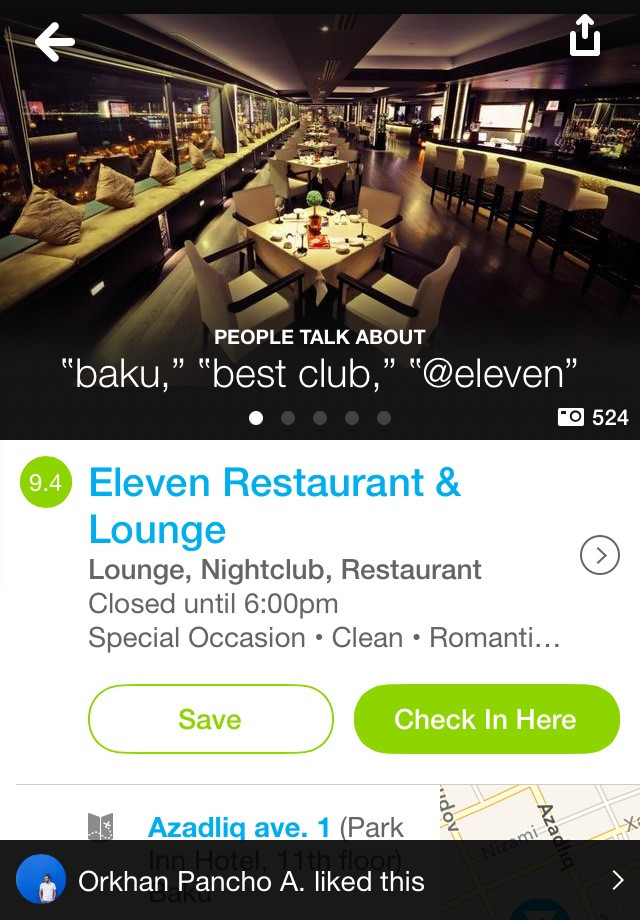 App of the day - Foursquare - by One Happy Blog - 6