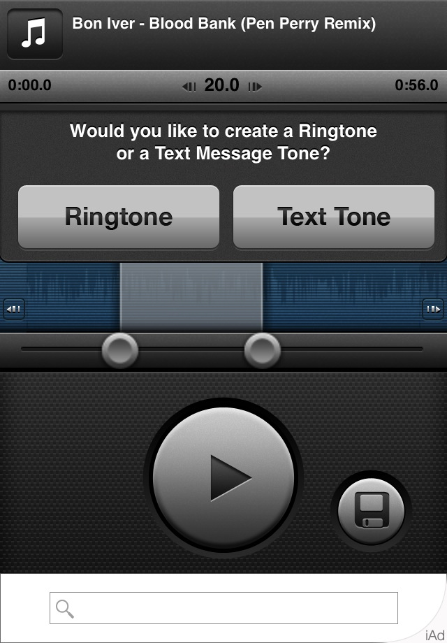 App of the day - Ringtones by One Happy Blog - 3