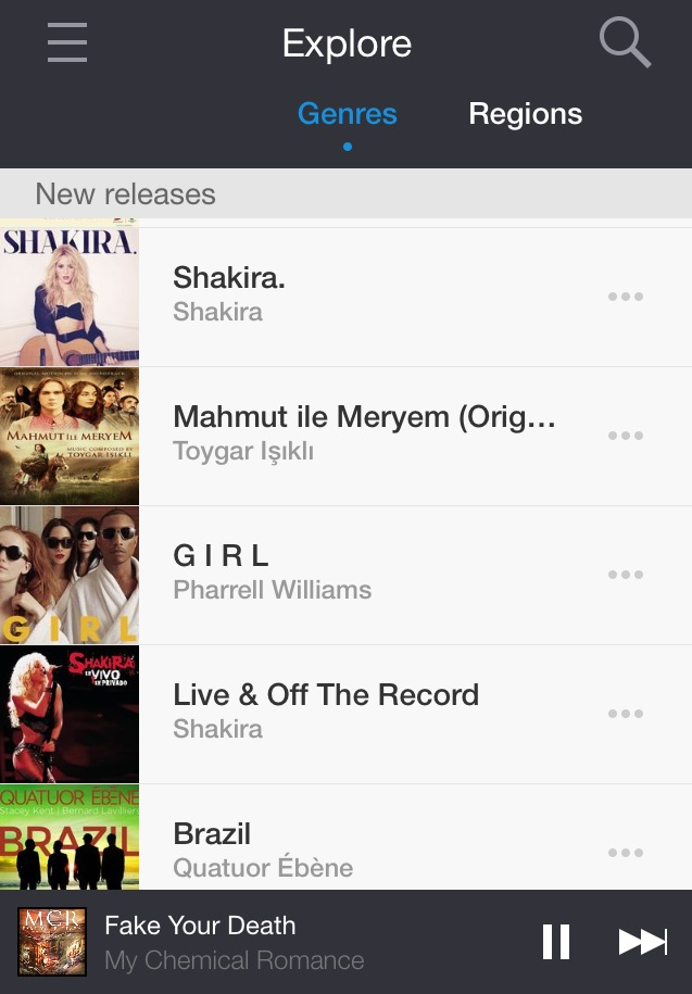 Deezer app by One Happy Blog - 2