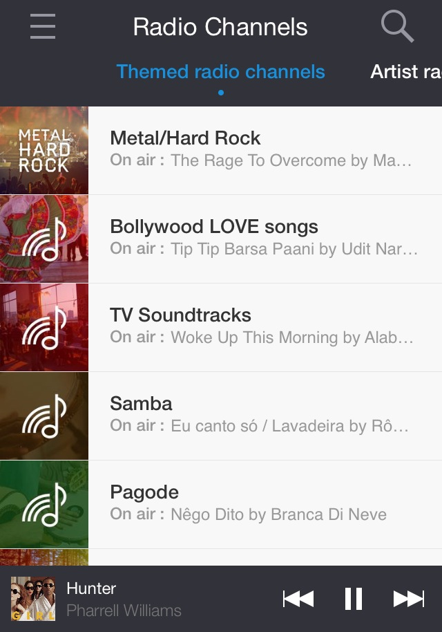 Deezer app by One Happy Blog - 4