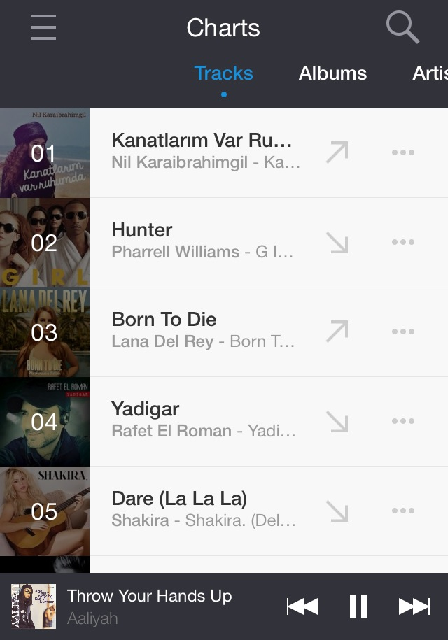 Deezer app by One Happy Blog - 7