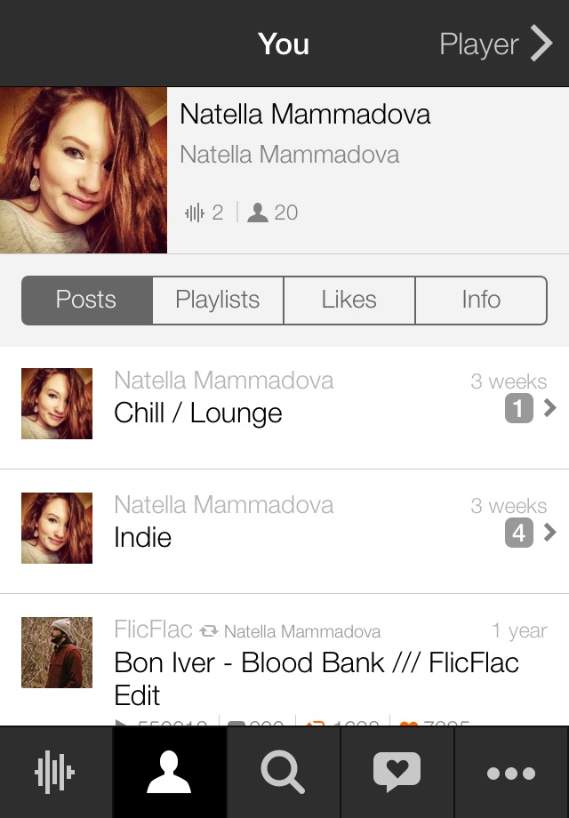 SoundCloud app 4