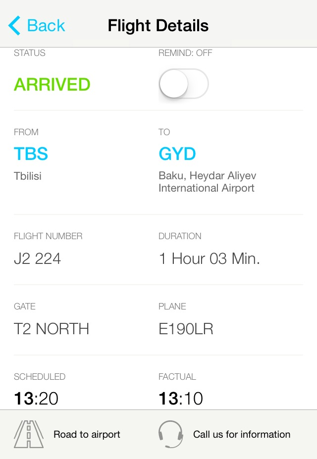 App of the day - Baku Airport by One Happy Blog - 3