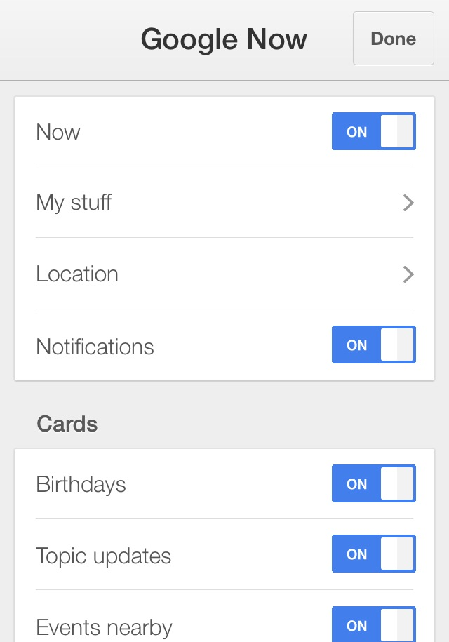 App of the day - Google by One Happy Blog - 5