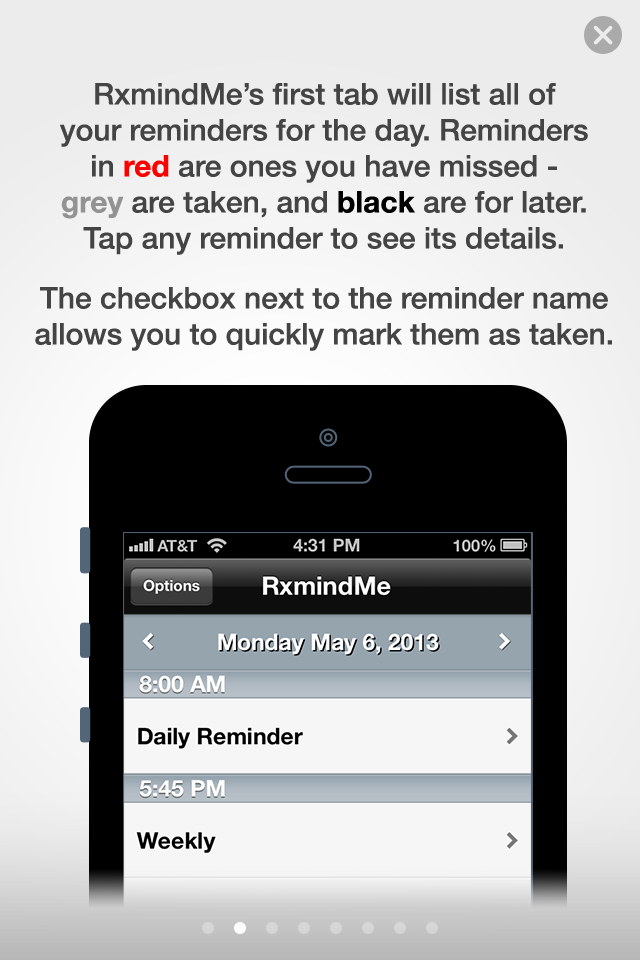 App of the day - RxmindMe by One Happy Blog - 1