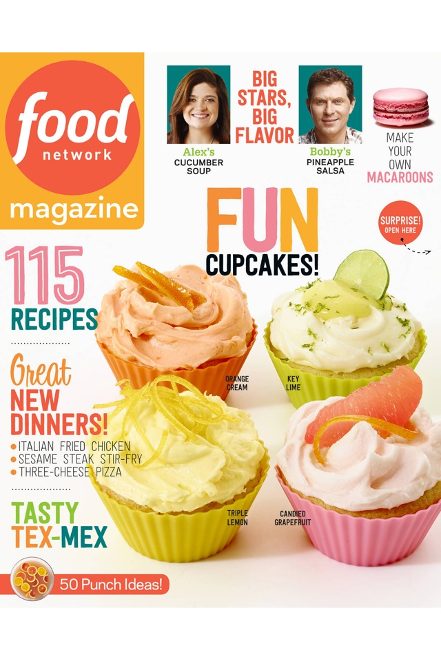 Food Network Magazine Cover by One Happy Blog