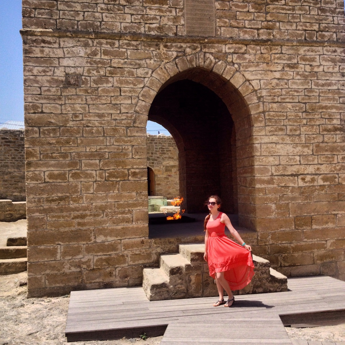 Travel with me around Azerbaijan: Ateshgah