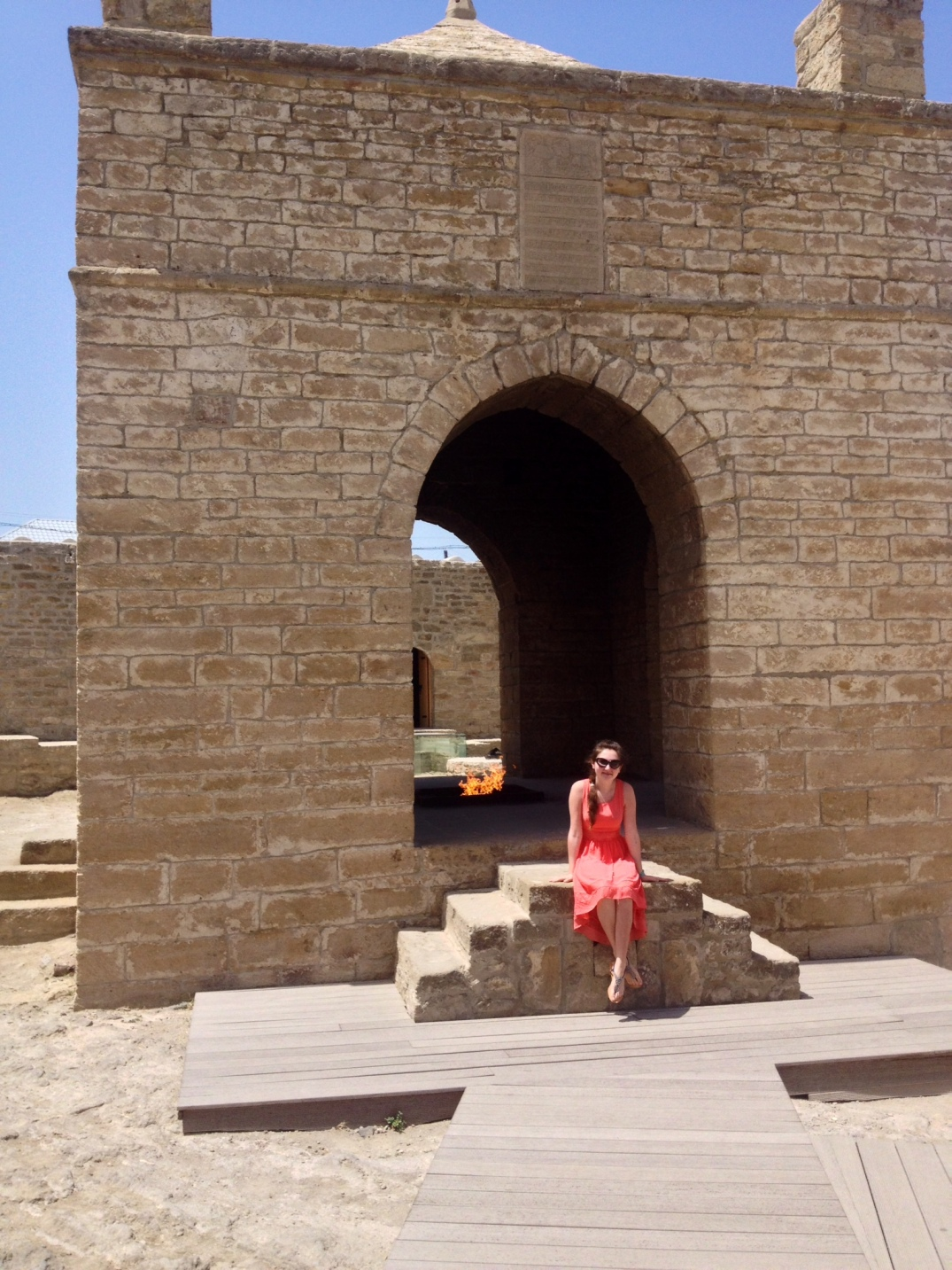 Travel with me around Azerbaijan - Ateshgah - by One Happy Blog - 48