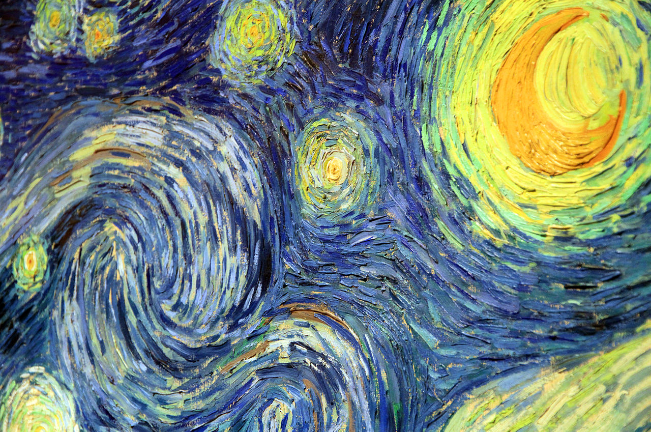 Moma Vincent Van Gogh The Starry Night 1889 - HD1280×849