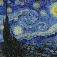 Art of the day: 'The Starry Night' by Vincent Van Gogh