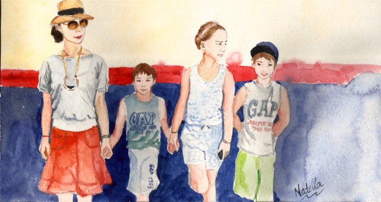 Artwork of the day - Happy Family by One Happy Blog