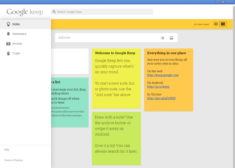 App of the day - Google Keep - by One Happy Blog - 2