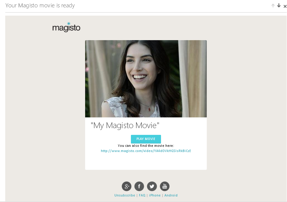 Magisto review by One Happy Blog - 7