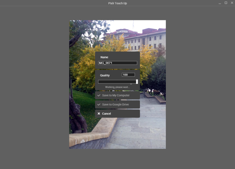 App of the day - PixIr Touch Up - by One Happy Blog - 7